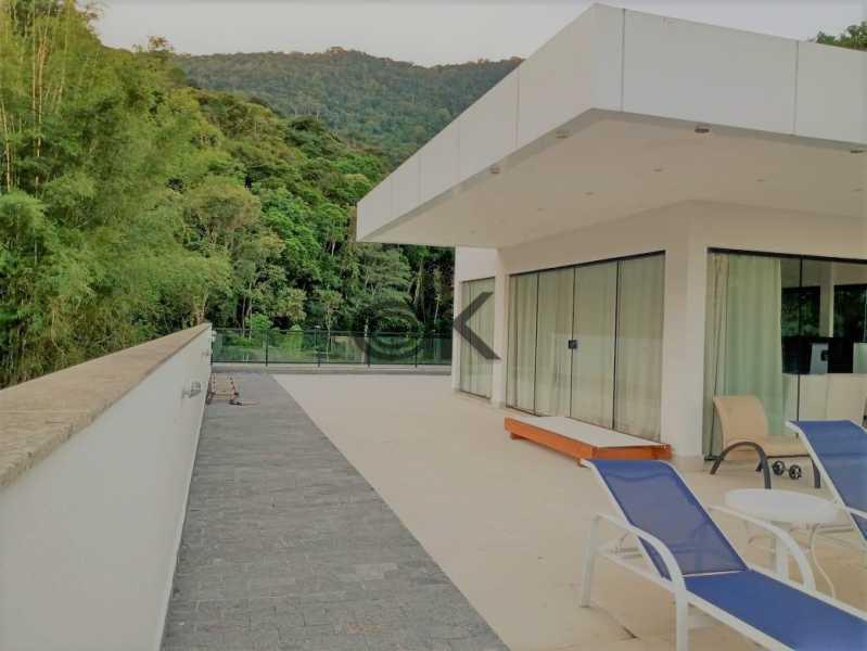 33_Terraço cercado de muito v - Casa em Condomínio 4 quartos à venda Itanhangá, Rio de Janeiro - R$ 5.200.000 - 6229 - 25