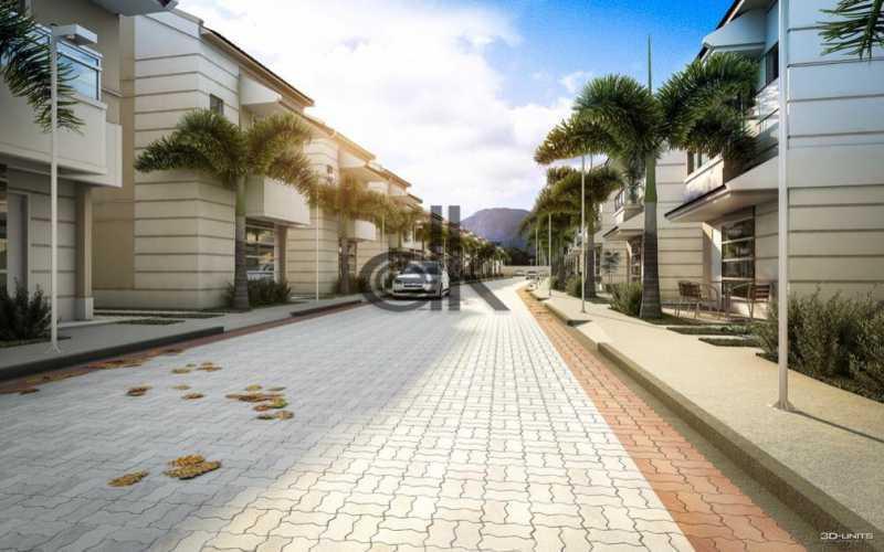 Vista interna rua principal - Casa em Condomínio 3 quartos à venda Vargem Grande, Rio de Janeiro - R$ 798.500 - 6245 - 3