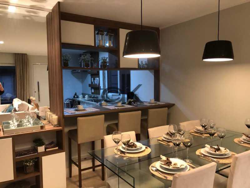 Sala jantar /cozinha americana - Casa em Condomínio 3 quartos à venda Vargem Grande, Rio de Janeiro - R$ 798.500 - 6245 - 9