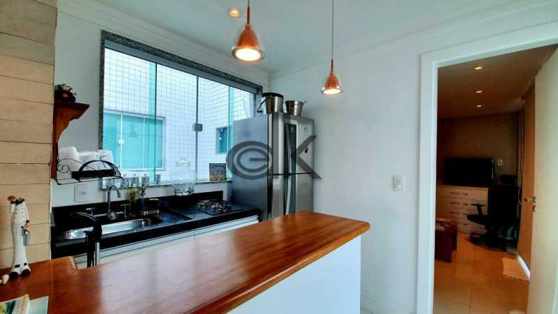 Foto cozinha gourmet segundoar - Cobertura 4 quartos à venda Recreio dos Bandeirantes, Rio de Janeiro - R$ 2.050.000 - 6470 - 10