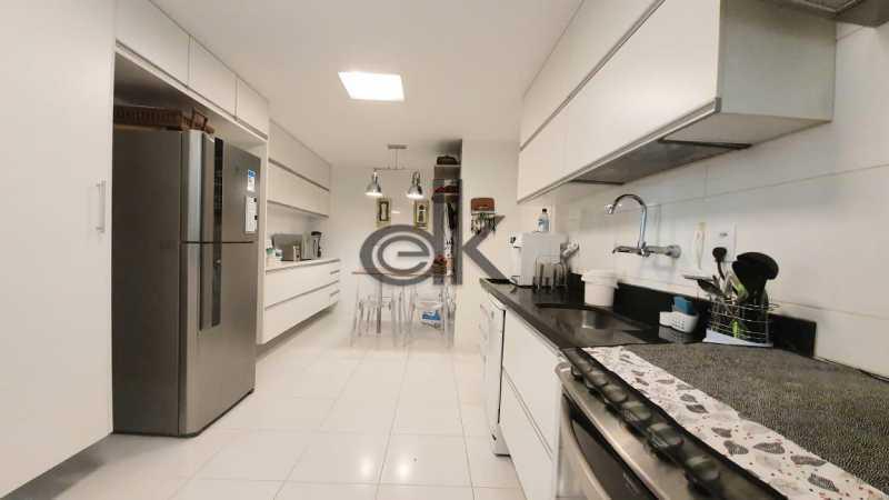 Foto da cozinha do 1ar 1. - Cobertura 4 quartos à venda Recreio dos Bandeirantes, Rio de Janeiro - R$ 2.050.000 - 6470 - 11