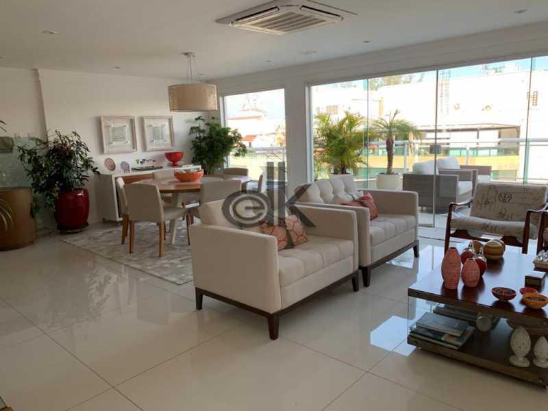 Foto da sala do 1ar - Cobertura 4 quartos à venda Recreio dos Bandeirantes, Rio de Janeiro - R$ 2.050.000 - 6470 - 7