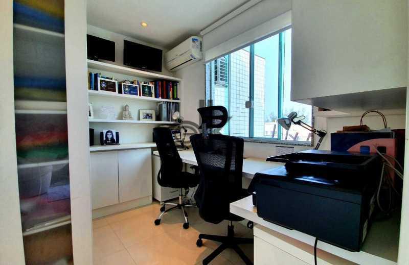 Foto do escritório. - Cobertura 4 quartos à venda Recreio dos Bandeirantes, Rio de Janeiro - R$ 2.050.000 - 6470 - 19