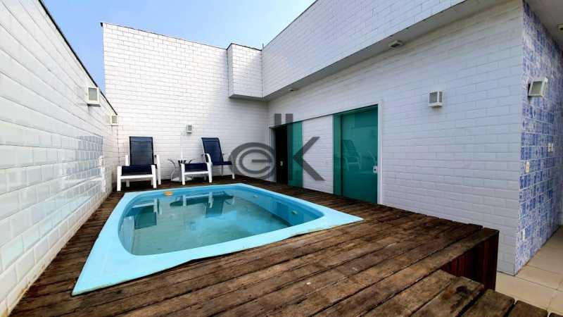 Foto piscina área externa. - Cobertura 4 quartos à venda Recreio dos Bandeirantes, Rio de Janeiro - R$ 2.050.000 - 6470 - 26