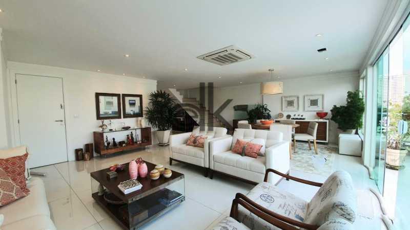 Foto ampla sala do 1ar. - Cobertura 4 quartos à venda Recreio dos Bandeirantes, Rio de Janeiro - R$ 2.050.000 - 6470 - 6