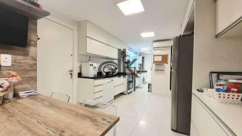 Foto da cozinha do 1ar 2. - Cobertura 4 quartos à venda Recreio dos Bandeirantes, Rio de Janeiro - R$ 2.050.000 - 6470 - 12