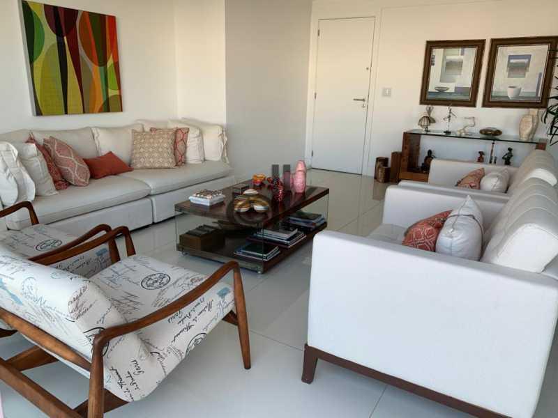 Foto da sala do 1ar 3 - Cobertura 4 quartos à venda Recreio dos Bandeirantes, Rio de Janeiro - R$ 2.050.000 - 6470 - 5