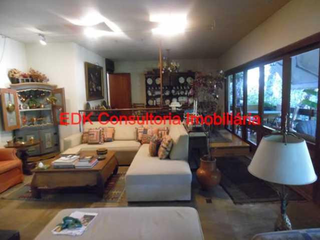 001 - Casa em Condomínio 4 quartos à venda São Conrado, Rio de Janeiro - R$ 1.950.000 - 701 - 1