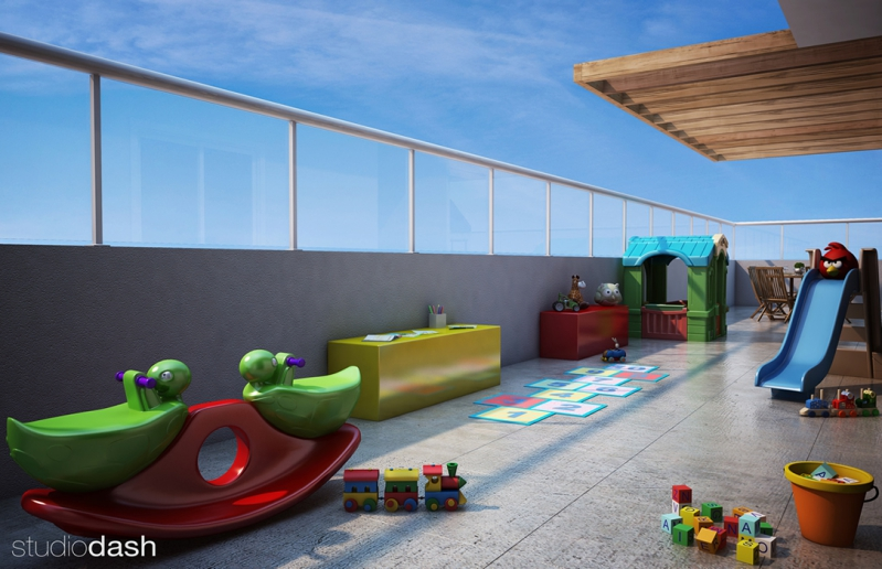 3d-play-kids-vp1 - Fachada - VALE D´OURO RESIDENCIAL  - 28 - 6
