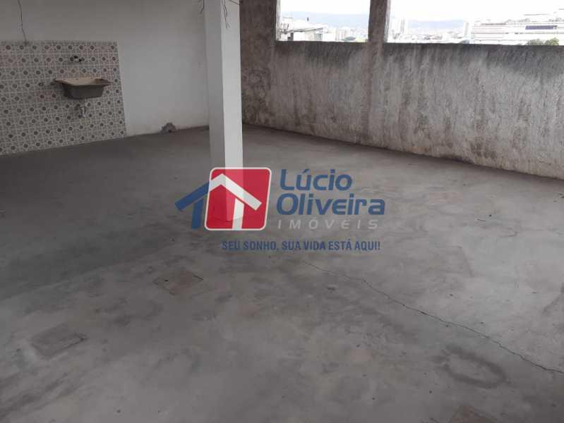 13 TERRAÇO. - Casa à venda Avenida Lusitania,Penha Circular, Rio de Janeiro - R$ 170.000 - VPCA20125 - 13