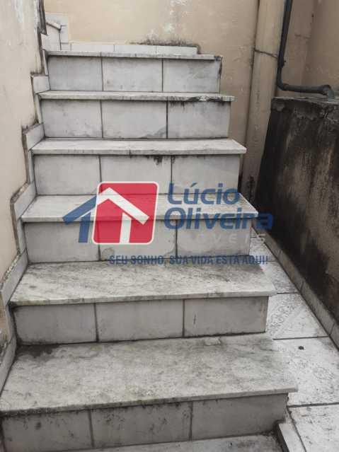 17 ESCADA ENTRADA. - Casa à venda Avenida Lusitania,Penha Circular, Rio de Janeiro - R$ 170.000 - VPCA20125 - 17
