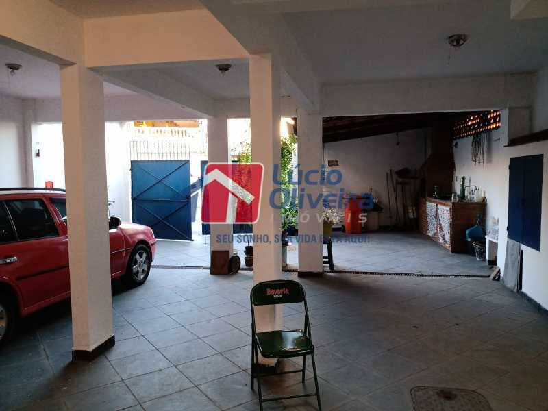 5 Area externa - Casa à venda Rua Comandante Coelho,Vista Alegre, Rio de Janeiro - R$ 550.000 - VPCA30087 - 5