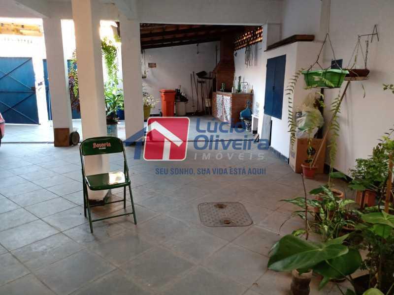 6 Area externa - Casa à venda Rua Comandante Coelho,Vista Alegre, Rio de Janeiro - R$ 550.000 - VPCA30087 - 6