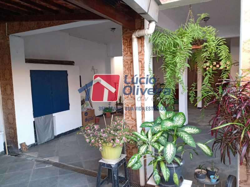 9 Area externa - Casa à venda Rua Comandante Coelho,Vista Alegre, Rio de Janeiro - R$ 550.000 - VPCA30087 - 7