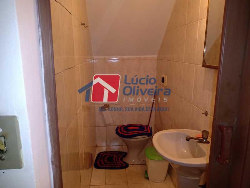 11 Lavabo area terrea - Casa à venda Rua Comandante Coelho,Vista Alegre, Rio de Janeiro - R$ 550.000 - VPCA30087 - 9