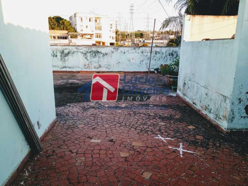 30 Terraço - Casa à venda Rua Comandante Coelho,Vista Alegre, Rio de Janeiro - R$ 550.000 - VPCA30087 - 30