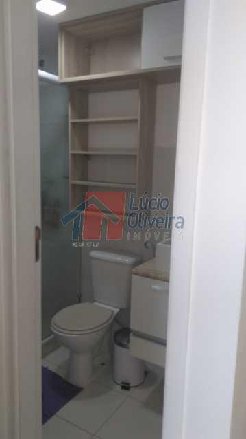 5 Banheiro Social - Apartamento Avenida Pastor Martin Luther King Jr,Vila da Penha,Rio de Janeiro,RJ À Venda,2 Quartos,46m² - VPAP20676 - 6