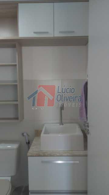 6 Banheiro Social Ang.2 - Apartamento Avenida Pastor Martin Luther King Jr,Vila da Penha,Rio de Janeiro,RJ À Venda,2 Quartos,46m² - VPAP20676 - 7