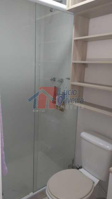 7 Banheiro Social Ang.3 - Apartamento Avenida Pastor Martin Luther King Jr,Vila da Penha,Rio de Janeiro,RJ À Venda,2 Quartos,46m² - VPAP20676 - 8