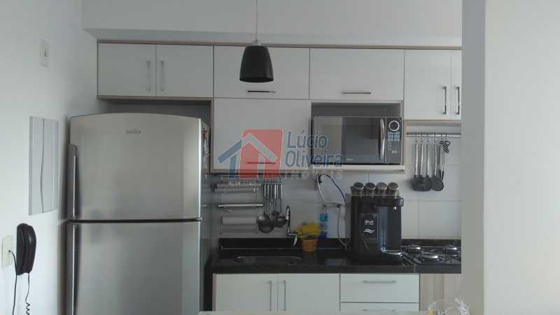 8 Cozinha - Apartamento Avenida Pastor Martin Luther King Jr,Vila da Penha,Rio de Janeiro,RJ À Venda,2 Quartos,46m² - VPAP20676 - 9