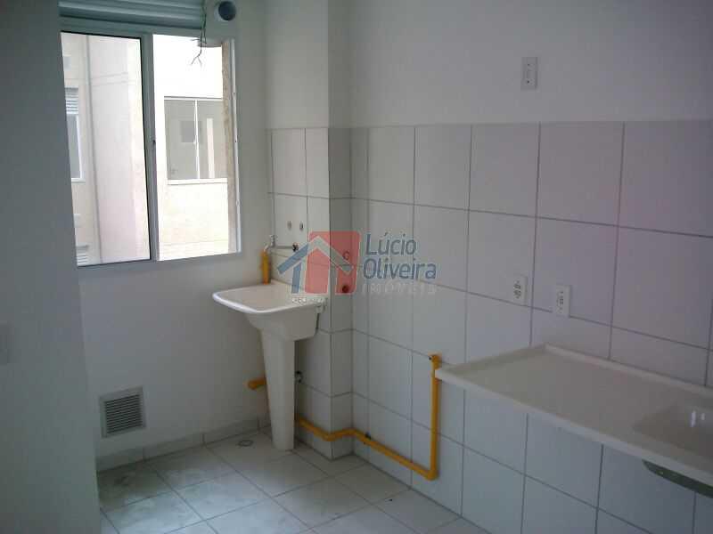 cozinha e area de serviço. - Apartamento À Venda - Parada de Lucas - Rio de Janeiro - RJ - VPAP30163 - 4