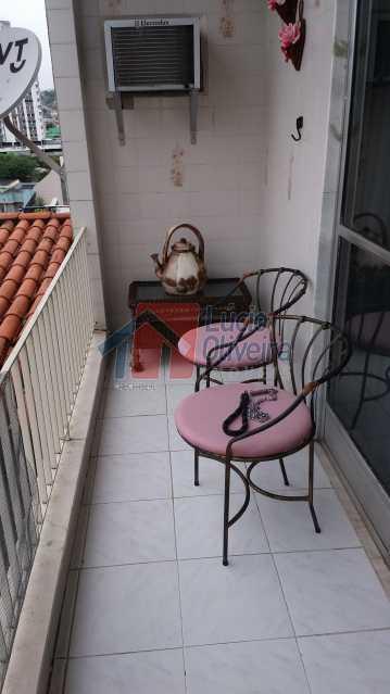 varanda 05 - Apartamento À Venda - Vista Alegre - Rio de Janeiro - RJ - VPAP20767 - 6