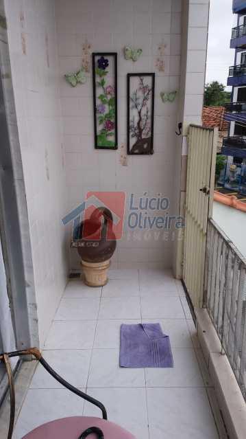 varanda 04 - Apartamento À Venda - Vista Alegre - Rio de Janeiro - RJ - VPAP20767 - 5