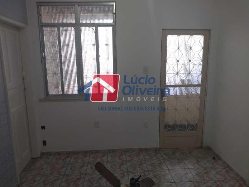 02- Sala - Casa Rua Tomás Lópes,Vila da Penha, Rio de Janeiro, RJ À Venda, 2 Quartos, 60m² - VPCA20164 - 3