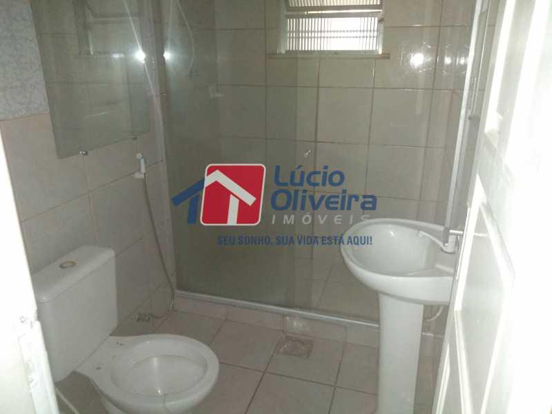 06- Banheiro - Casa Rua Tomás Lópes,Vila da Penha, Rio de Janeiro, RJ À Venda, 2 Quartos, 60m² - VPCA20164 - 7