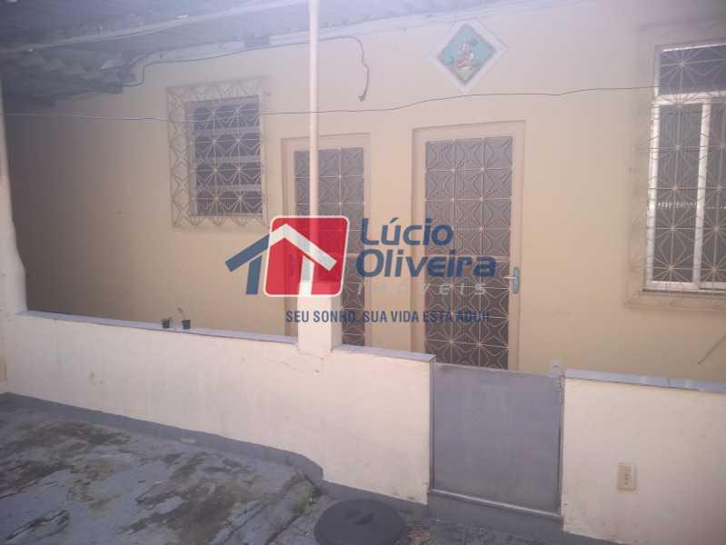11- Frente Casa - Casa Rua Tomás Lópes,Vila da Penha, Rio de Janeiro, RJ À Venda, 2 Quartos, 60m² - VPCA20164 - 12
