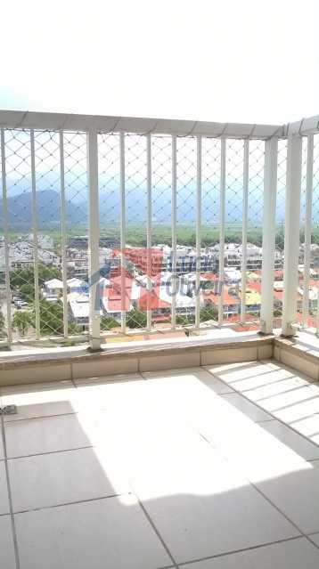4 Varanda - Apartamento À Venda - Recreio dos Bandeirantes - Rio de Janeiro - RJ - VPAP30167 - 5