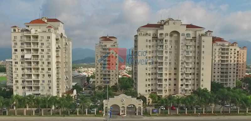 1 Fachada2 - Apartamento À Venda - Recreio dos Bandeirantes - Rio de Janeiro - RJ - VPAP30167 - 1