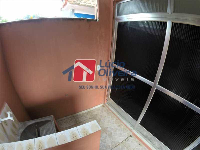 área externa 1 - Casa Rua Doutor Egídio de Almeida,Vila da Penha,Rio de Janeiro,RJ Para Alugar,2 Quartos,50m² - VPCA20173 - 21