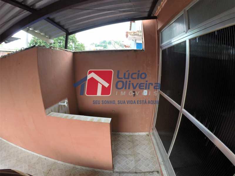 área externa 2 - Casa Rua Doutor Egídio de Almeida,Vila da Penha,Rio de Janeiro,RJ Para Alugar,2 Quartos,50m² - VPCA20173 - 22
