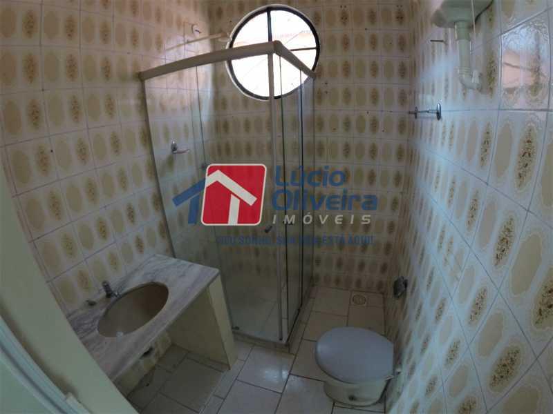 banheiro - Casa Rua Doutor Egídio de Almeida,Vila da Penha,Rio de Janeiro,RJ Para Alugar,2 Quartos,50m² - VPCA20173 - 18