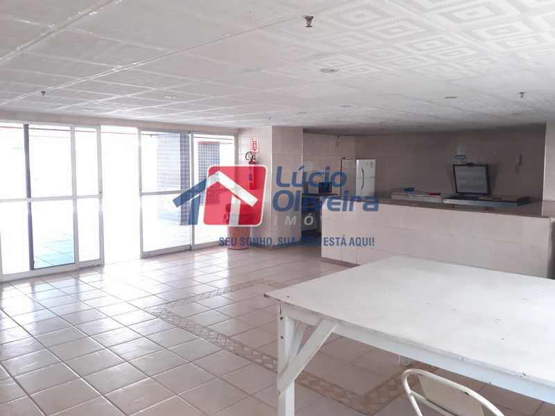 9 SALÃO DE FESTAS 2 - Magnífico Apartamento, Vazio, Total Infraestrutura. - VPAP20907 - 26
