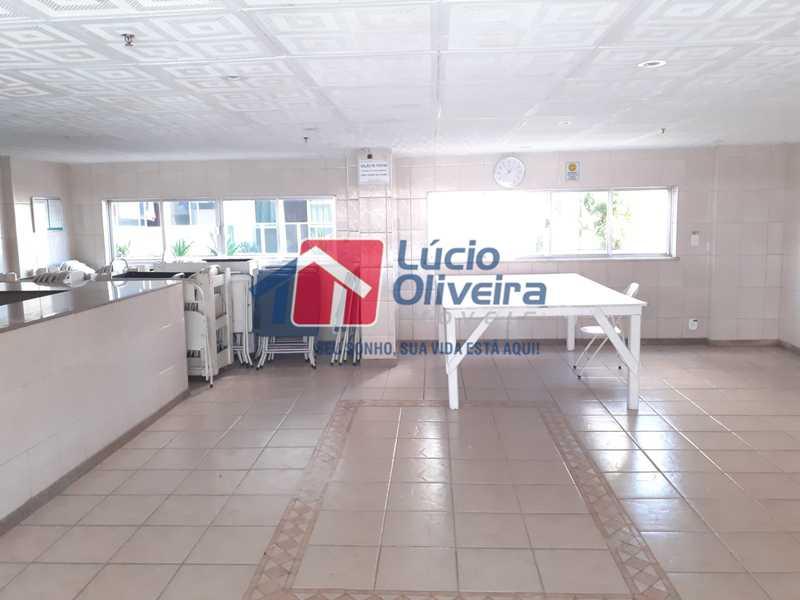 9 SALAO DE FESTAS 3 - Magnífico Apartamento, Vazio, Total Infraestrutura. - VPAP20907 - 27