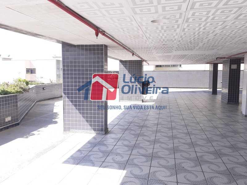 9 SALAO DE FESTAS. SAUNAS E BH - Magnífico Apartamento, Vazio, Total Infraestrutura. - VPAP20907 - 28