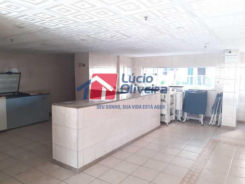 9 SALÃO DE FESTAS - Magnífico Apartamento, Vazio, Total Infraestrutura. - VPAP20907 - 30