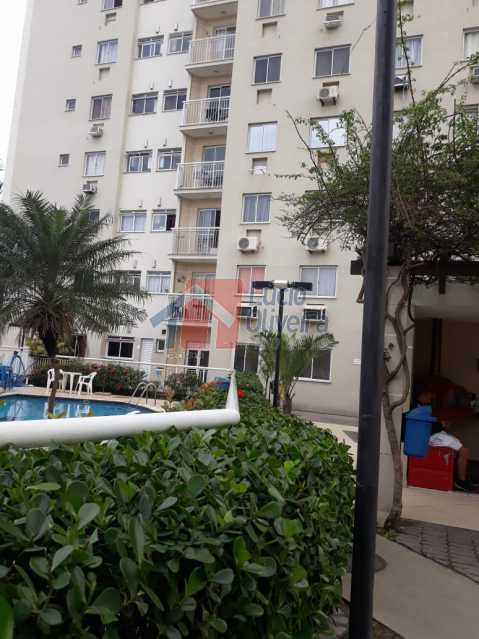 1. fachada do predio. - Belíssimo Apartamento 2 Quartos. - VPAP20911 - 14
