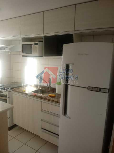 3. cozinha. - Belíssimo Apartamento 2 Quartos. - VPAP20911 - 4