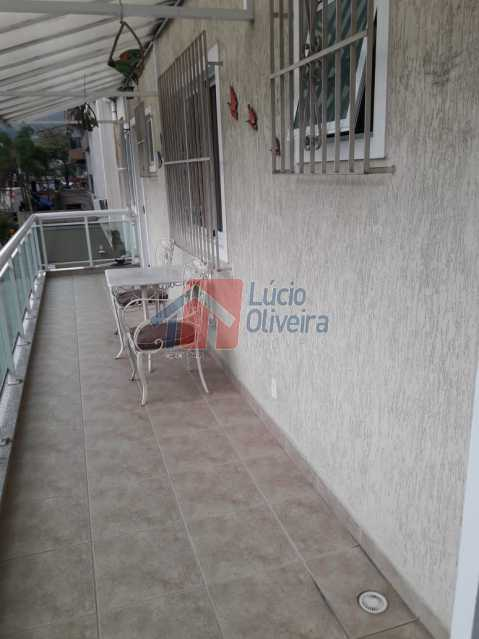 VARANDA. - Excelente Residência triplex na Vila da Penha. - VPCA30116 - 19