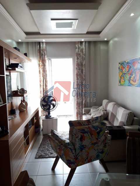 4. sala. ang4. - Excelente Apto em Condomínio na Vila da Penha - VPAP30205 - 3
