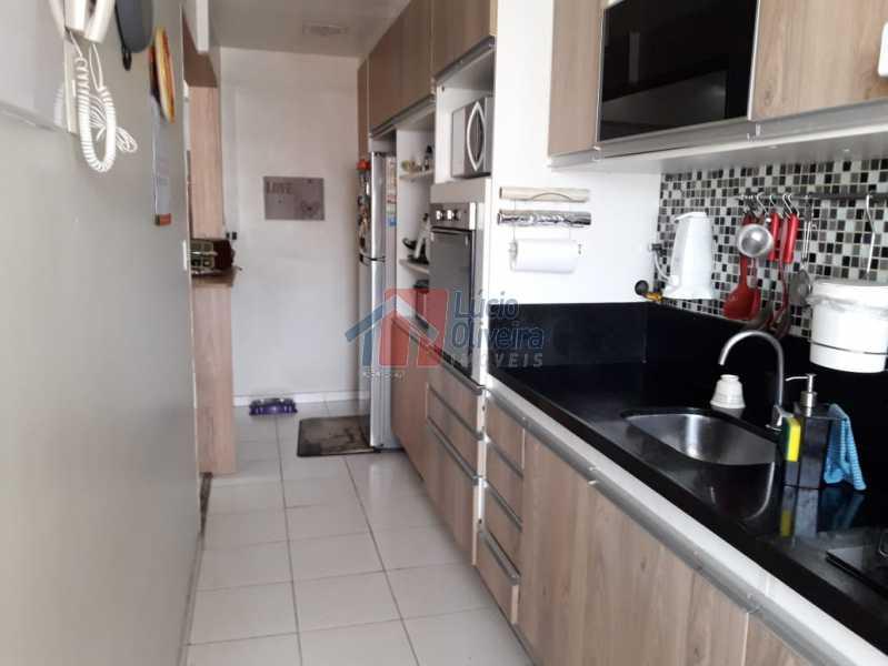 8. cozinha. ang3. - Excelente Apto em Condomínio na Vila da Penha - VPAP30205 - 8