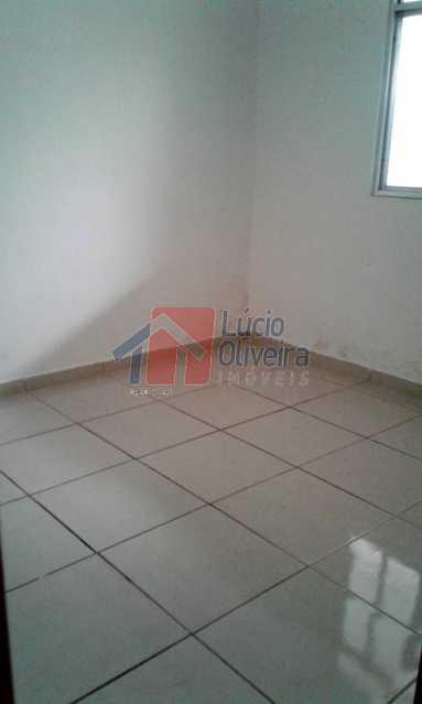 5 Quarto de fundos - Apartamento 3 dormitórios, Térreo. Aceita Financiamento. - VPAP30208 - 9
