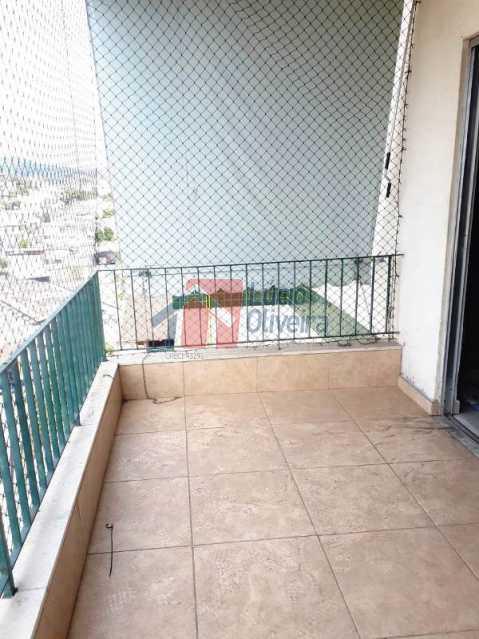3 varanda - Magnífico Apartamento 2 quartos. Prédio com 2 elevadores. - VPAP20926 - 4