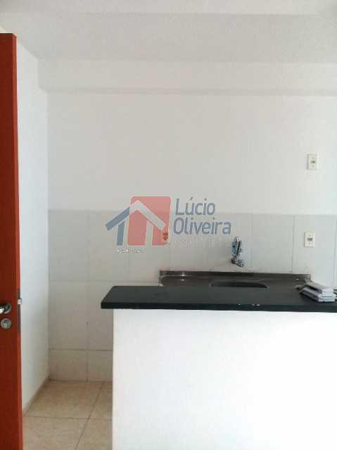 11 Cozinha frente - Apartamento À Venda - Cordovil - Rio de Janeiro - RJ - VPAP20982 - 13