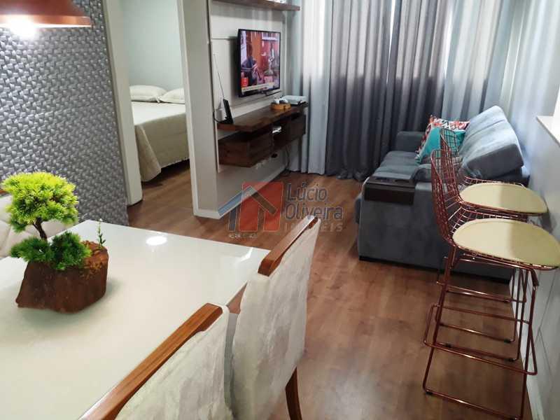 2 SALA - Espetacular Apartamento, 2 quartos. Ac. Financiamento. - VPAP20984 - 4
