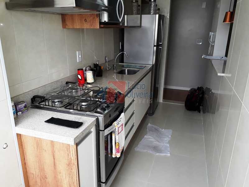 15 COZINHA - Espetacular Apartamento, 2 quartos. Ac. Financiamento. - VPAP20984 - 16