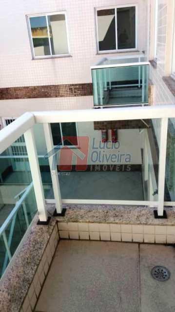 14-Varanda dos quartos - Apartamento À Venda - Vila Kosmos - Rio de Janeiro - RJ - VPAP20987 - 15